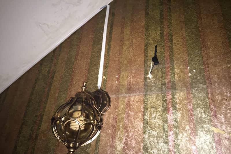 タイの内装電気工事の注意点 延長コードを多用するため見た目が悪い