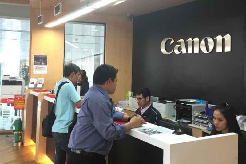バンコクのCanonでプリンター修理を日本人スタッフが親切に対応してくれた体験談