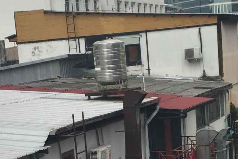 バンコク 水圧 貯水タンク