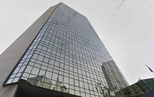 近代的なオフィスタワー