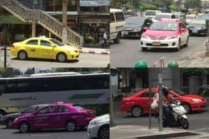 バンコク タクシー種類