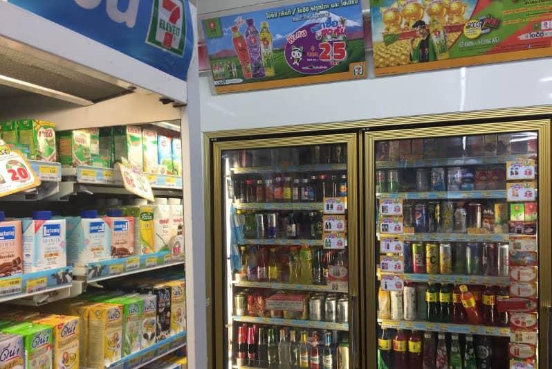 タイの商品ですが日本と変わらない豊富な品揃えです。