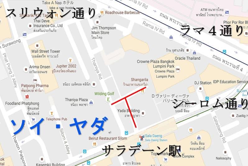 ソイヤダ地図