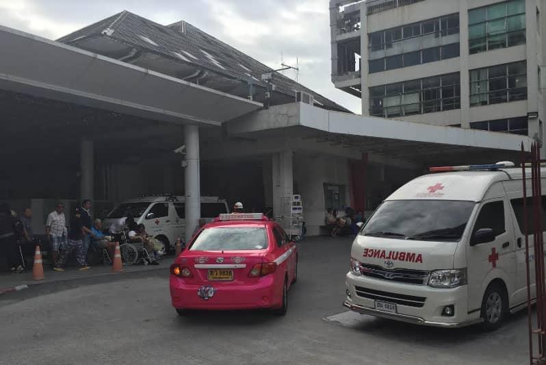 タニヤ近辺病院情報シーロム・スリウォン病気ケガ救急車日本語電話番号