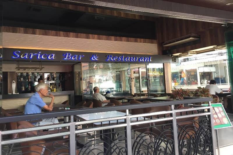 タニヤパッポン近くサリカカフェは喫煙ルームもある喫茶・レストラン