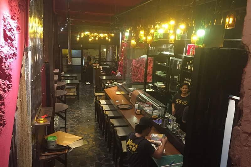 タニヤ居酒屋あぶり屋台トリプルエイトは丁寧な王道日本料理おつまみ