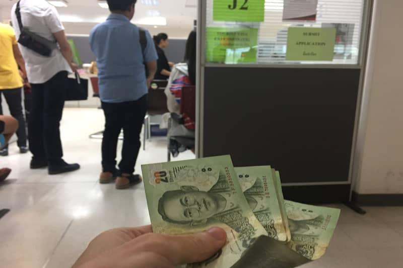 タイ滞在ビザ延長手続き方法・2017年2月バンコク入国管理局最新状況