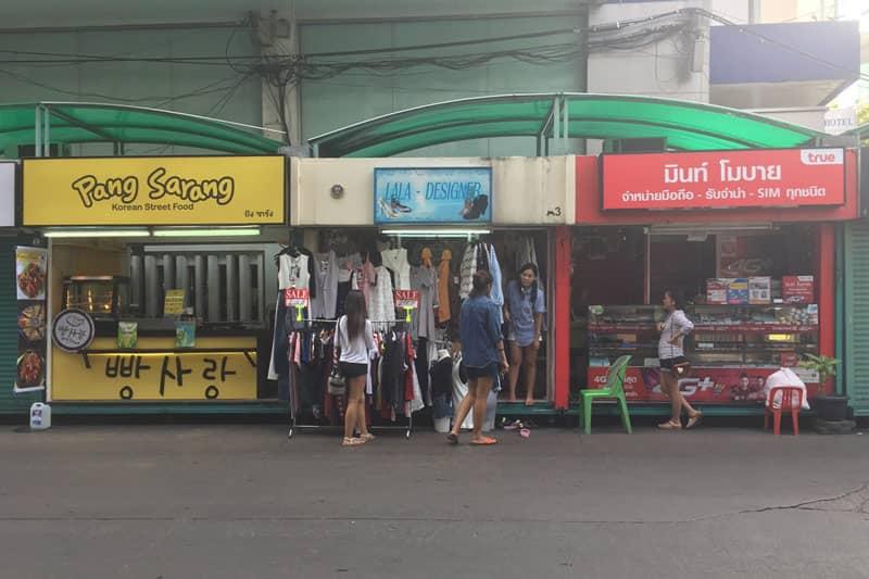 タニヤ通りコンテナボックスショップ一覧・2017年2月最新店舗情報