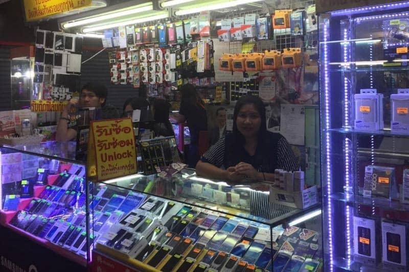 バンコクMBKセンター中古携帯iPhone販売料金と買取価格2018年版