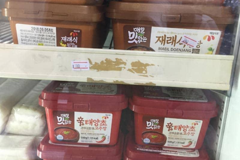 バンコク韓国食材スーパー・自家製キムチ販売のコリアンタウン