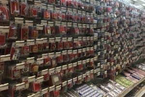 バンコクのオフィス用品店「オフィスメイト」シーロム店の品揃え