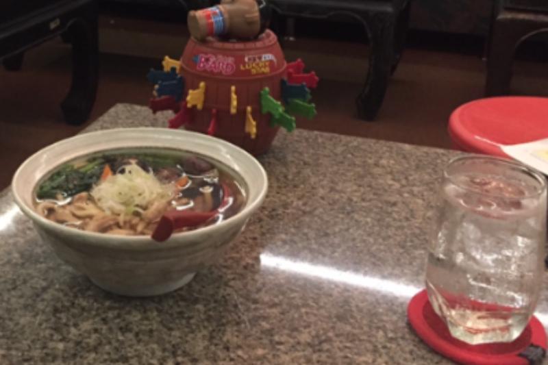 タニヤ・カラオケアゲハのうどんはおすすめ!飲み屋のレベル超えた味