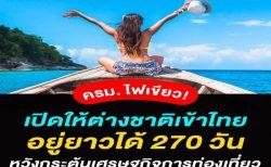 タイのコロナ対策規制緩和の動き・ビジネス目的の入国者の状況と今後